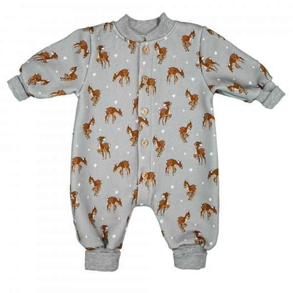 carlina - Kuscheliger Baby-Overall im Bambi-Look