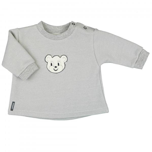carlina - Tolles Baby-Sweatshirt mit frechem Bärchen