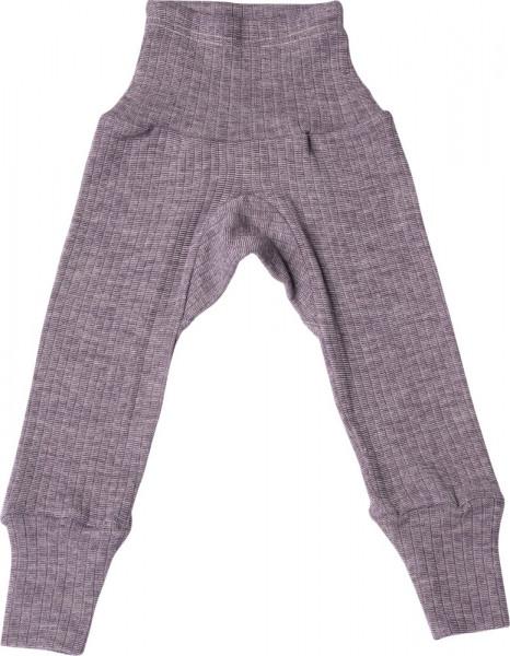 Cosilana Baby Hose - lang mit Bund Seide/Wolle/Baumwolle