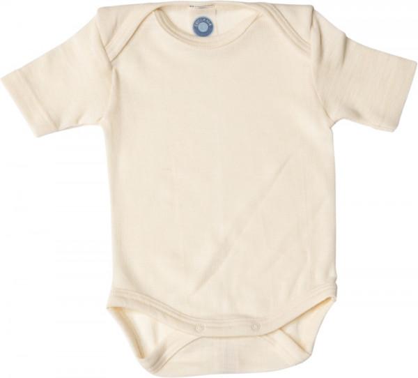 Cosilana Baby-Body - Kurzarm - Wolle/Seide