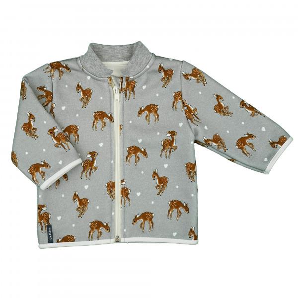 """carlina - Wunderbar kuschlige Jacke mit Stehkragen aus dem """"Bambi-Land"""""""