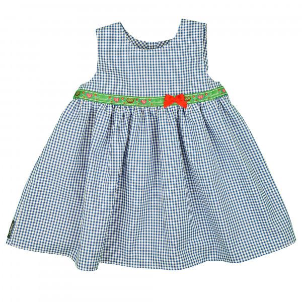 carlina - Superschönes Kleid (blau-weiß od. rot-weiß) ohne Arm mit Rüschung