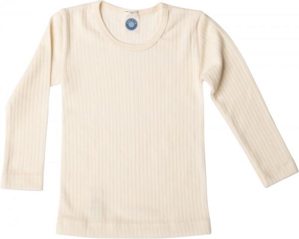 Cosilana Kinderunterhemd - Langarmshirt Seide/Wolle/Baumwolle